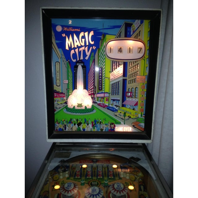 Mid-Century Williams Magic City Pinball Machine - Image 6 of 10