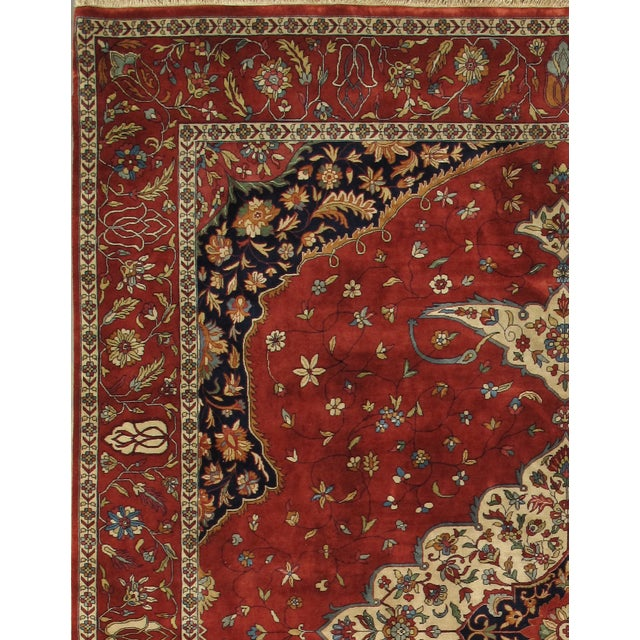 """Pasargad's Ferehan Area Rug- 7'11"""" x 10' 0"""" - Image 2 of 2"""