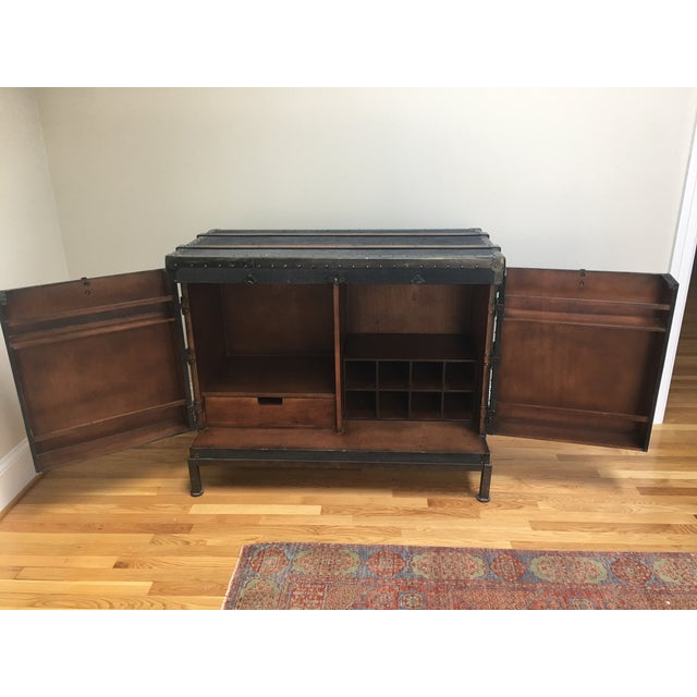 Dry Bar Trunk Cabinet - Image 3 of 5
