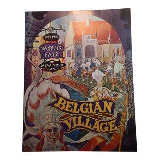 1964 World's Fair Belgian Village Book