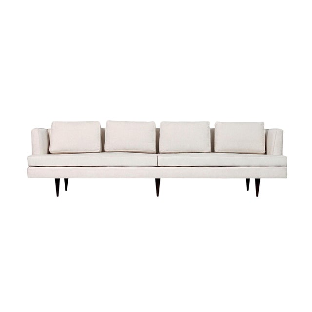 Large Edward Wormley for Dunbar Upholstered Sofa For Sale
