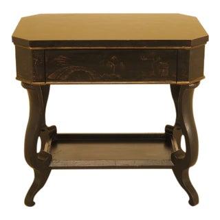 Baker Historic Charleston Chinoiserie 1 Drawer Table