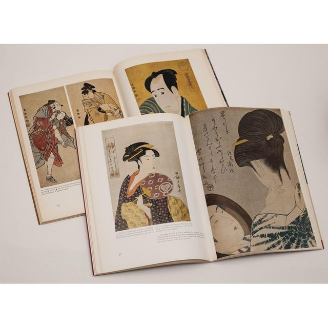 Hokusai, Hiroshige, Sharaku, Utamaro - Book Set of 4 For Sale - Image 10 of 13