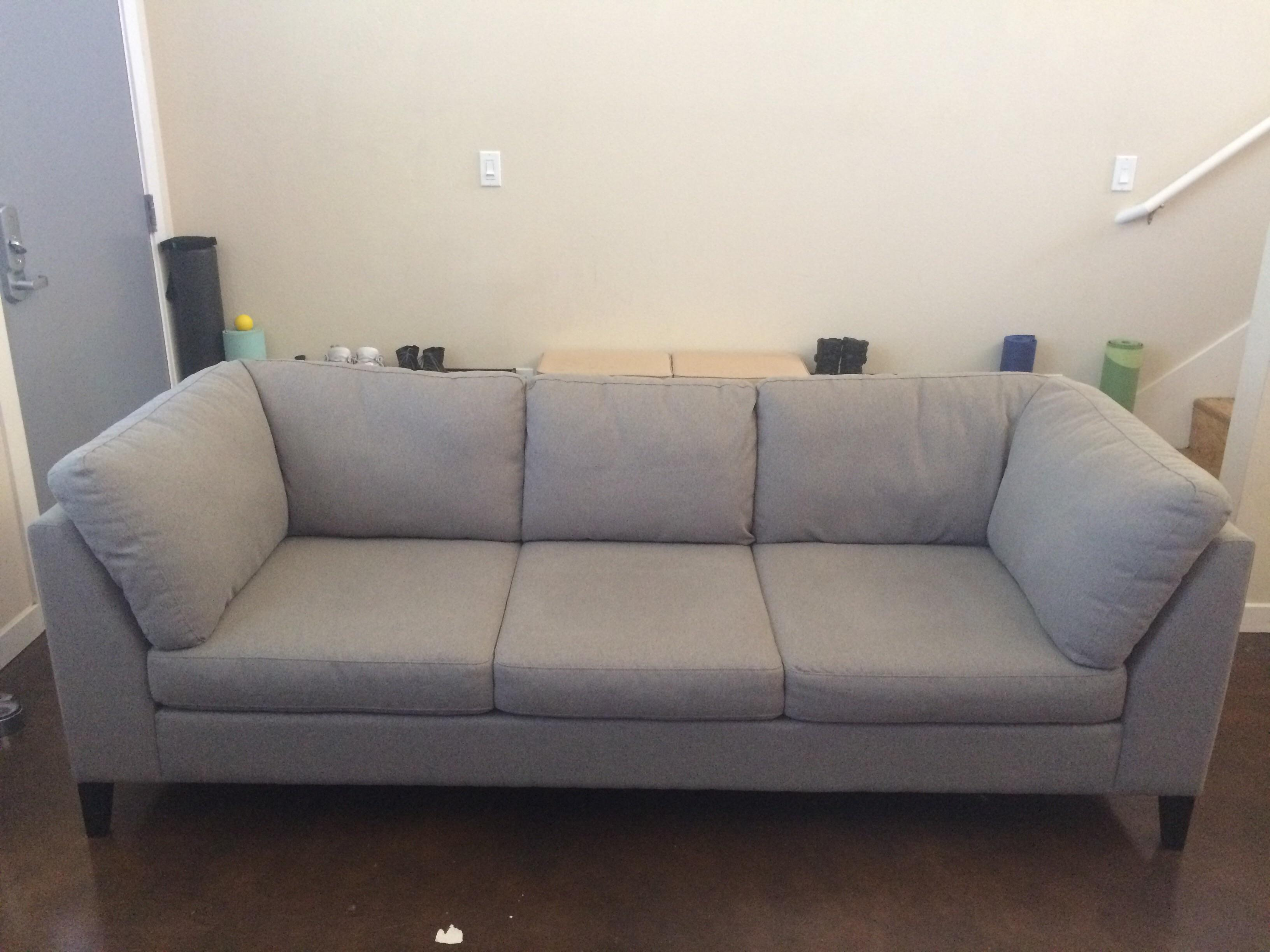 My Husband And I Are Selling Our New EQ3 Salema Sofa That We Purchased One  Month