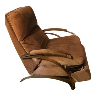 """Mid Century Signed Limited Edition """"Z"""" Recliner For Sale"""