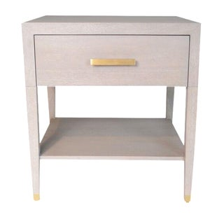 Carlyle End Table in Grey