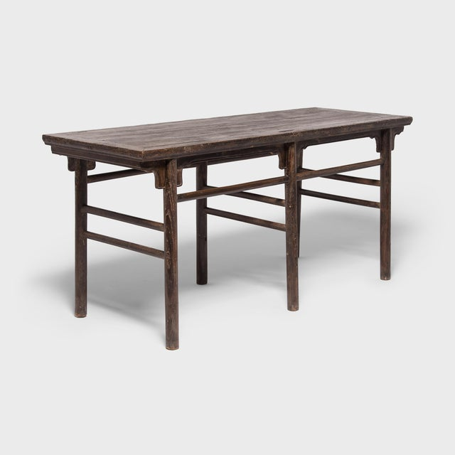 Wood 19th Century Chinese Calligrapher's Table For Sale - Image 7 of 7