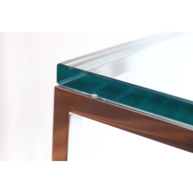 Mid-century Brueton Stainless Steel Side Table - Image 3 of 5