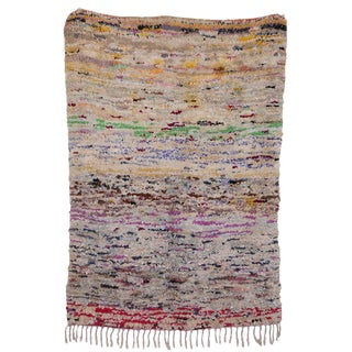 "Boucherouite Moroccan Carpet - 6'3"" x 4'5"""
