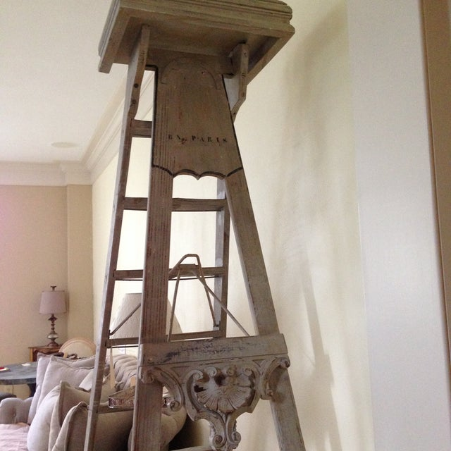 19th Century 10-Step French Artist Ladder - Image 6 of 6