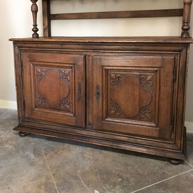19th Century Italian Rustic Country Vaisselier For Sale - Image 9 of 11