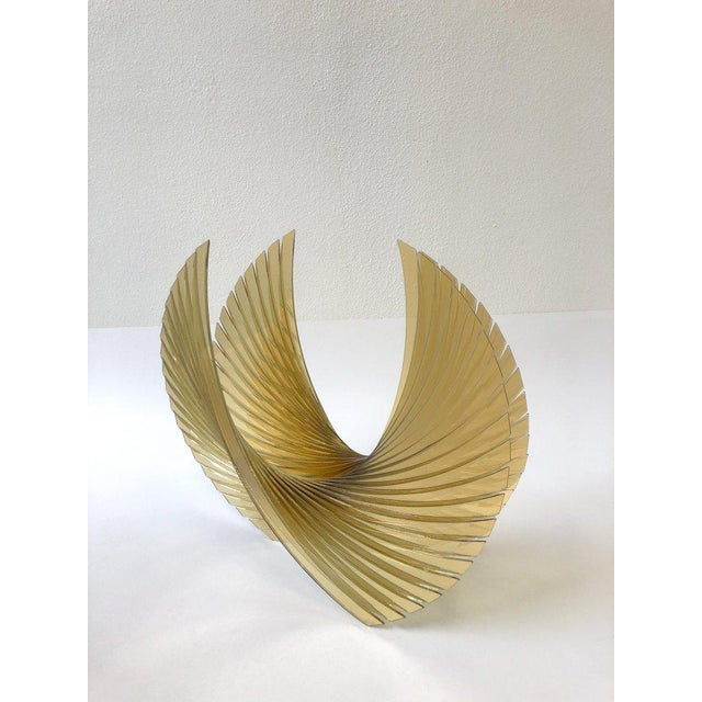2000s Amber Glass Sculpture by Tom Marosz For Sale - Image 5 of 11