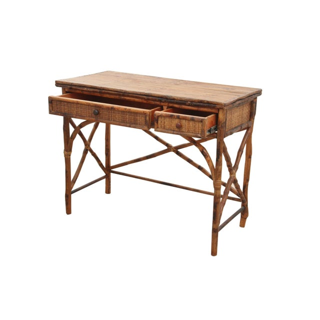 Split Bamboo Desk - Image 2 of 6