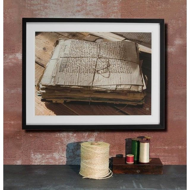 A Sarreid Ltd. framed artist edition print. Estimated Retail Price: $525.00. Printed in France.