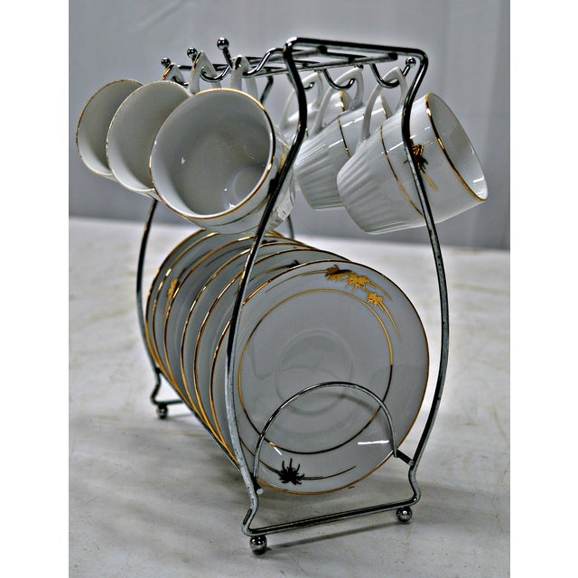 Regency Cups & Saucers with Hanger - Set of 6 - Image 3 of 7