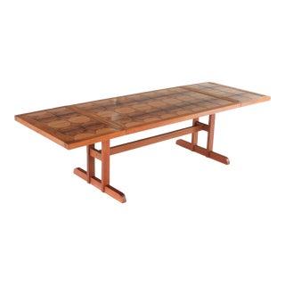 1960s Danish Modern Gangsø Møbler Teak Dining Table