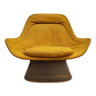 Vintage Mid Century Warren Platner Easy Chair for Knoll For Sale