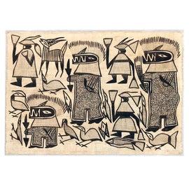 Image of Figurative Textile Art