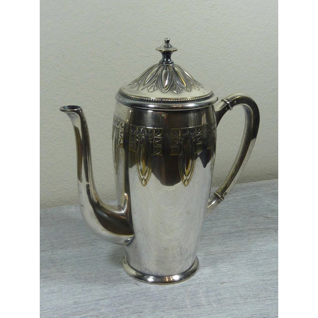 1900s Art Nouveau WMF Coffee/Tea Set - Image 4 of 11