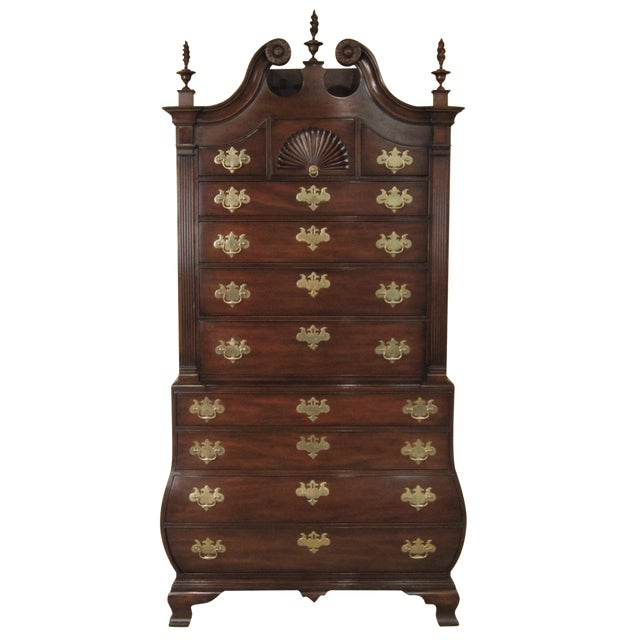 Kittinger Colonial Williamsbug Chest on Chest - Image 1 of 11