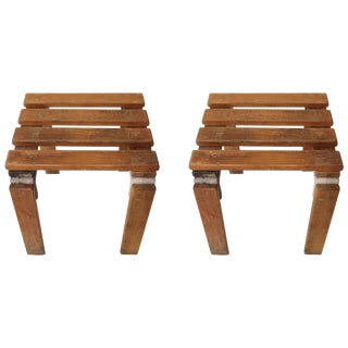 Pair of Georges Candilis and Anja Blomstedt Stools