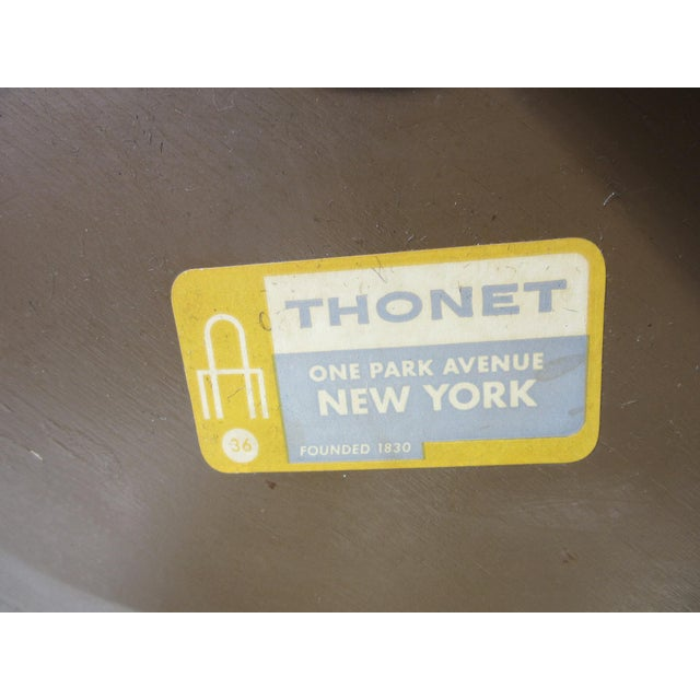Thonet Drink / Cigarette Side Table For Sale In Cincinnati - Image 6 of 8