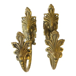 French Bronze Curtain Tiebacks For Sale