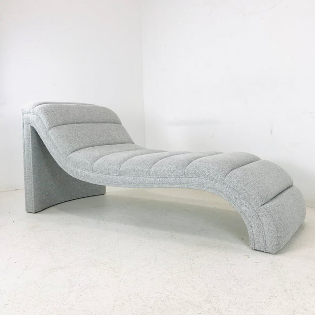 2020s Chaise Lounge in the Style of Kagan For Sale - Image 5 of 11