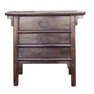 Elm Wood Altar Dresser For Sale