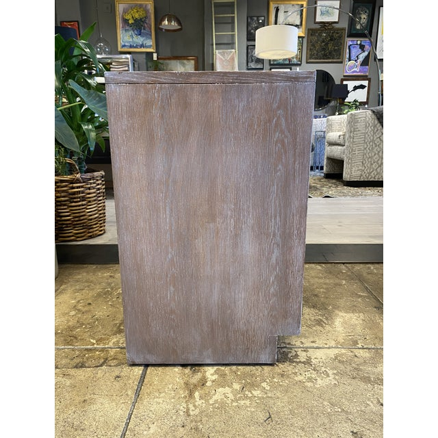 Wood Cerused Oak Night Stands Sligh Nightstands For Sale - Image 7 of 11