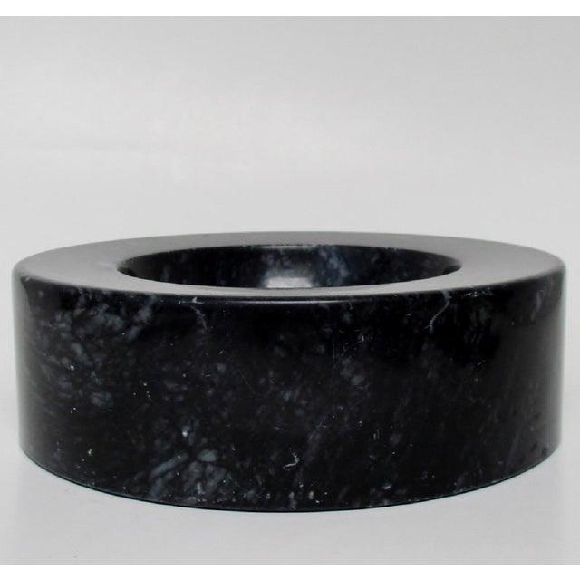Vintage Black Marble Bowl - Image 4 of 7
