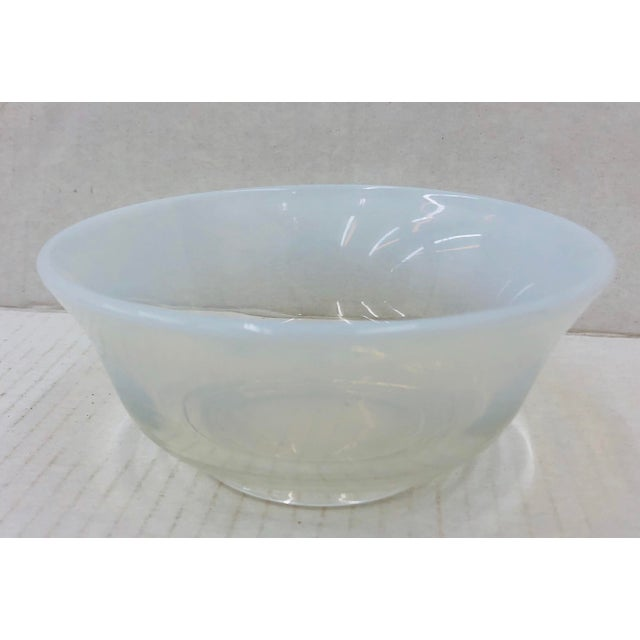 Mid 20th Century Vintage Opaline Cocktail Bowl For Sale - Image 5 of 7