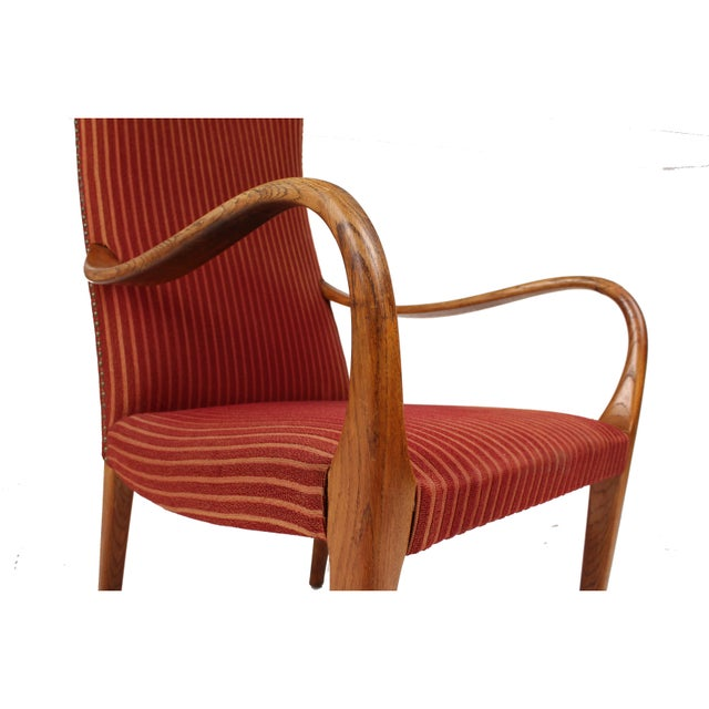 1943 Swedish Modern Armchair - Image 4 of 5