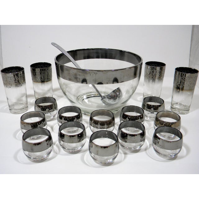 Dorothy Thorpe Mid-Century Modern Dorothy Thorpe Punch Set a - 18 Pieces For Sale - Image 4 of 4