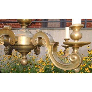 1960s Classical Brass Chandelier Preview