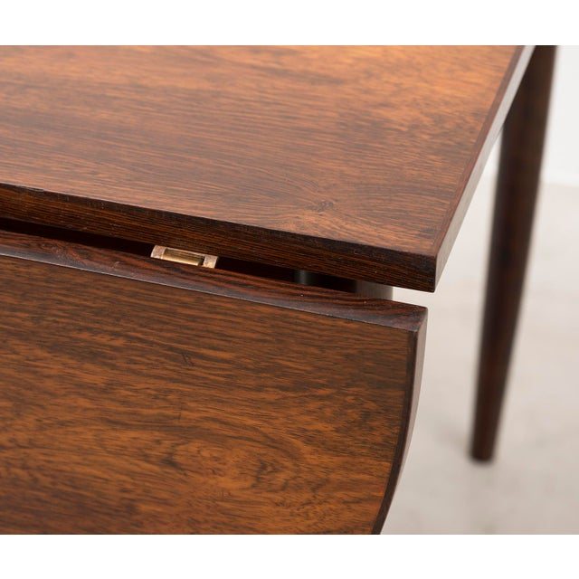Niels Moller Extending Dining Table in Rosewood, Denmark 1950s For Sale In Santa Fe - Image 6 of 12
