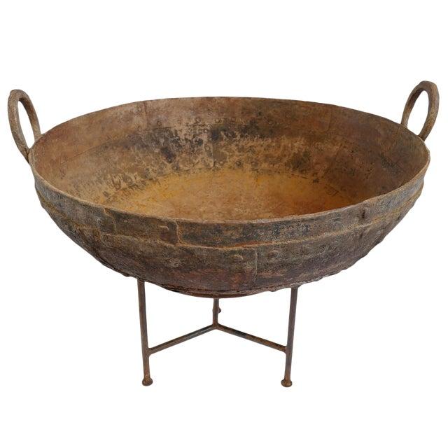 "Iron Kadai Bowl 32""-33"" For Sale"