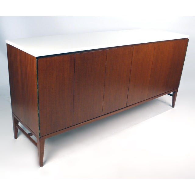Glass Paul McCobb Irwin Collection Credenza For Sale - Image 7 of 8
