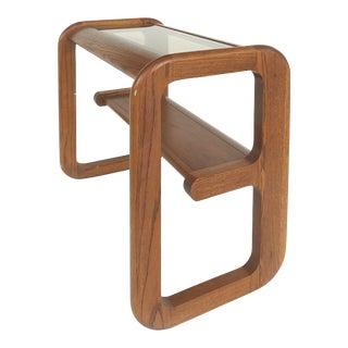Mid-Century Modern Lou Hodges Console/Sofa Table, California Design For Sale