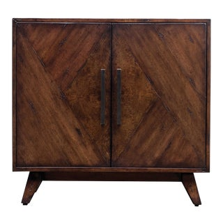 Mid Century Modern 2-Door Commode For Sale