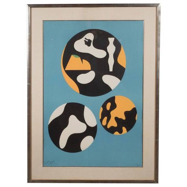 "Jean Arp ""De La Famille Des Etoiles"" 'A. 359' Lithograph Printed in Colors, 1965 For Sale - Image 10 of 10"
