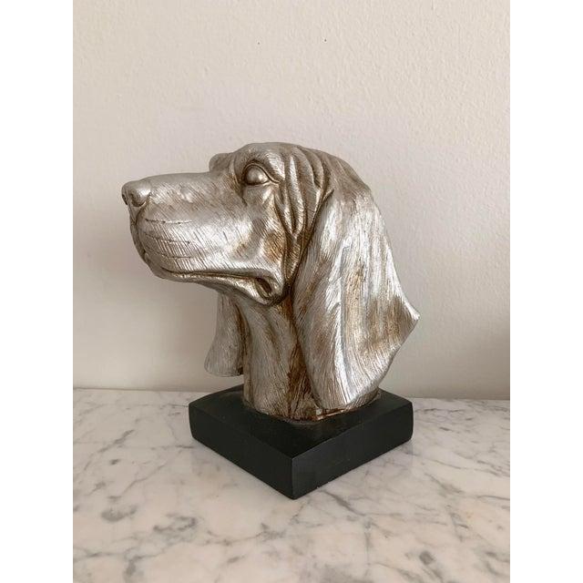 Labrador Golden Retriever Dog Head Figurine Bust For Sale - Image 9 of 9