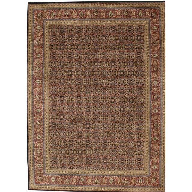 Pasargad Tabriz Wool Area Rug - 9' X 12' For Sale