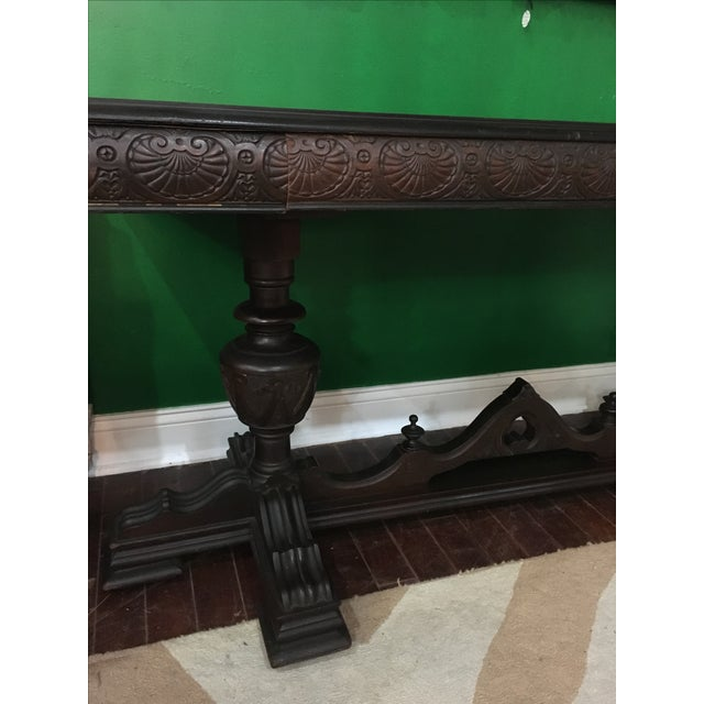 Antique Adjustable Library Table - Image 3 of 10