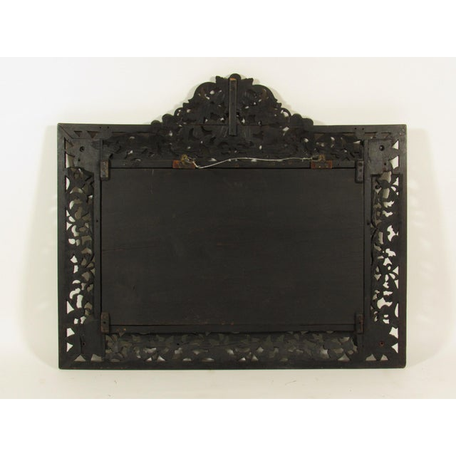 Glass 19th Century Rococo Style Mirror For Sale - Image 7 of 7