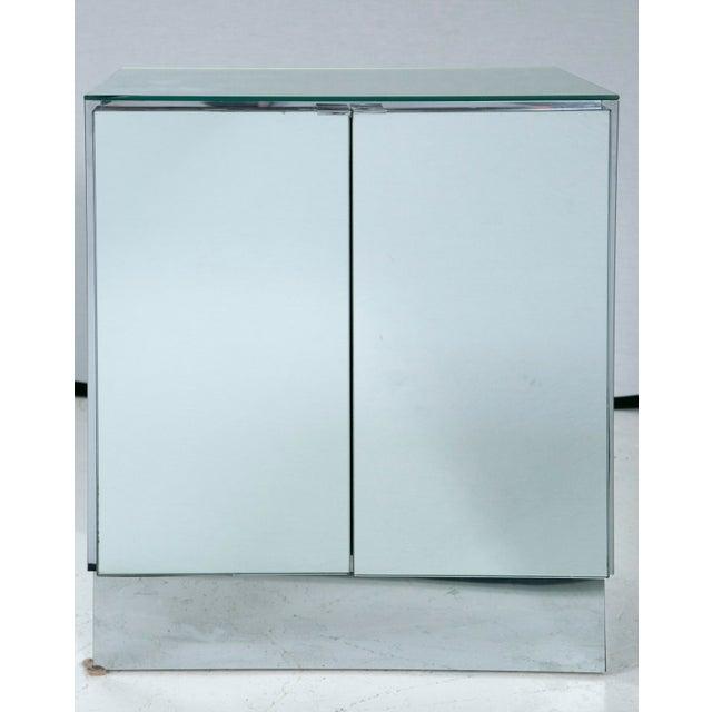 Ello Mid-Century Mirrored Night Stands - Pair - Image 6 of 8