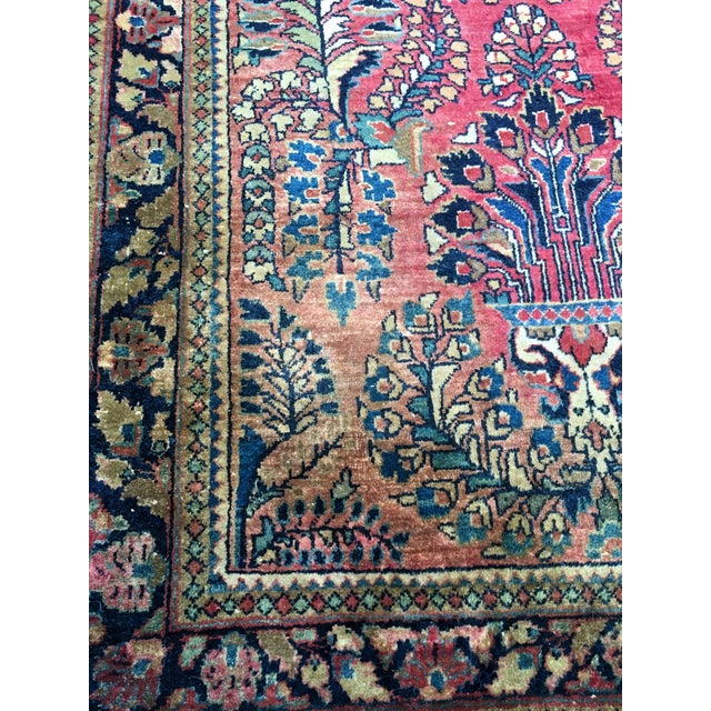 1920s Hand-Knotted Runner - 2′ × 6′ - Image 6 of 11