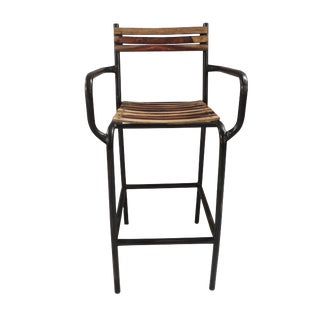 Eloy Wood & Iron Bar Chair