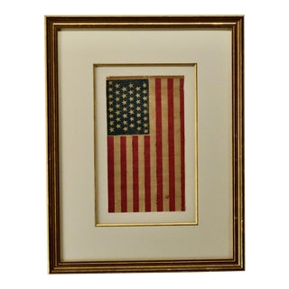 1890s Antique 44 Star Flag For Sale