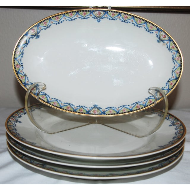 Haviland China Plates - Set of 4 - Image 3 of 6